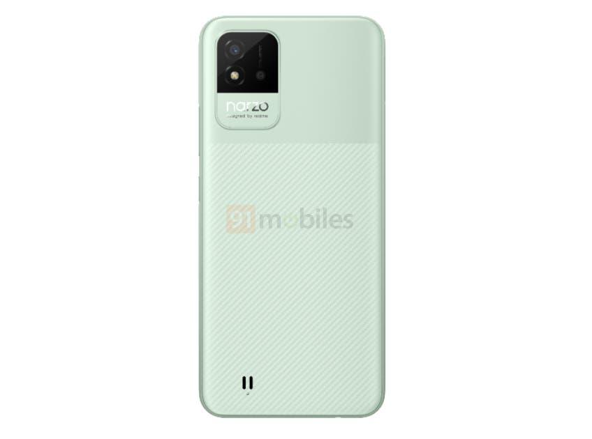 В сеть слили дизайн смартфона Realme Narzo 50i (Realme Narzo 50i 2)