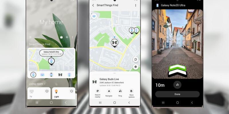 В сервисе Samsung SmartThings Find зарегистрировано 100 миллионов устройств (Samsung SmartThings Find 2 zag)