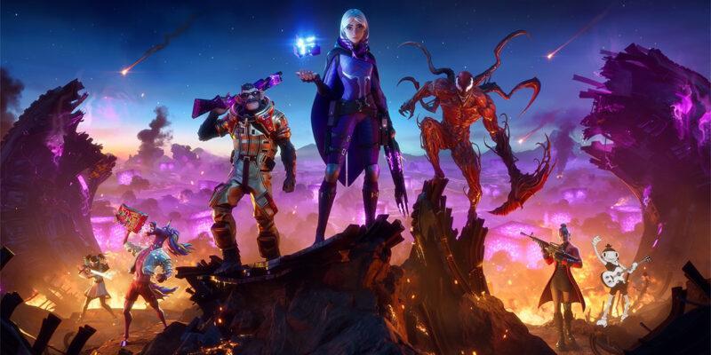 Увлекательное событие в Fortnite прошло в преддверии нового сезона (fortnite season 8 battle pass promo image 1)
