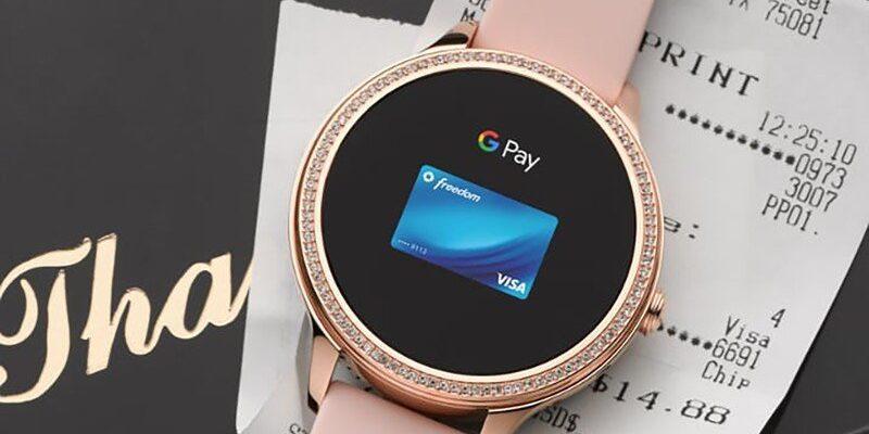 Google Pay для Wear OS теперь доступен еще в 10 странах, всего их 37 (fossil gen 5e google pay)