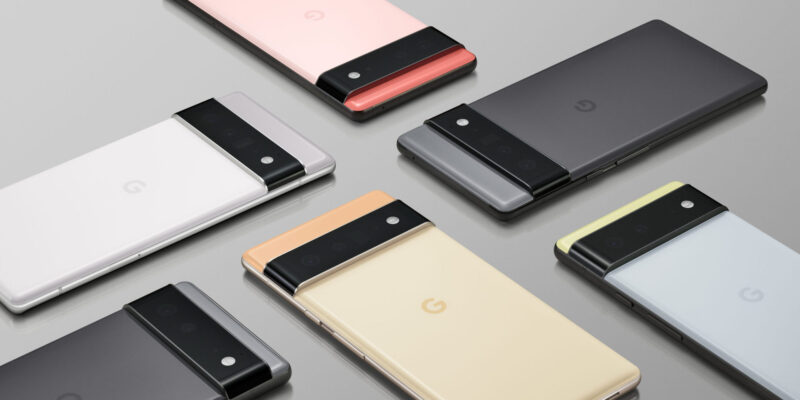 Google покажет новые продукты 5 октября (google pixel 6 pro range scaled 1 large large large)