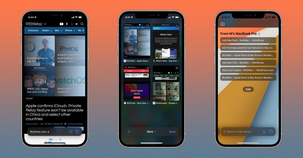 Обзор iOS 15: режим фокусировки, обновление Safari, новые эмоджи и многое другое (how safari ios 15 works)