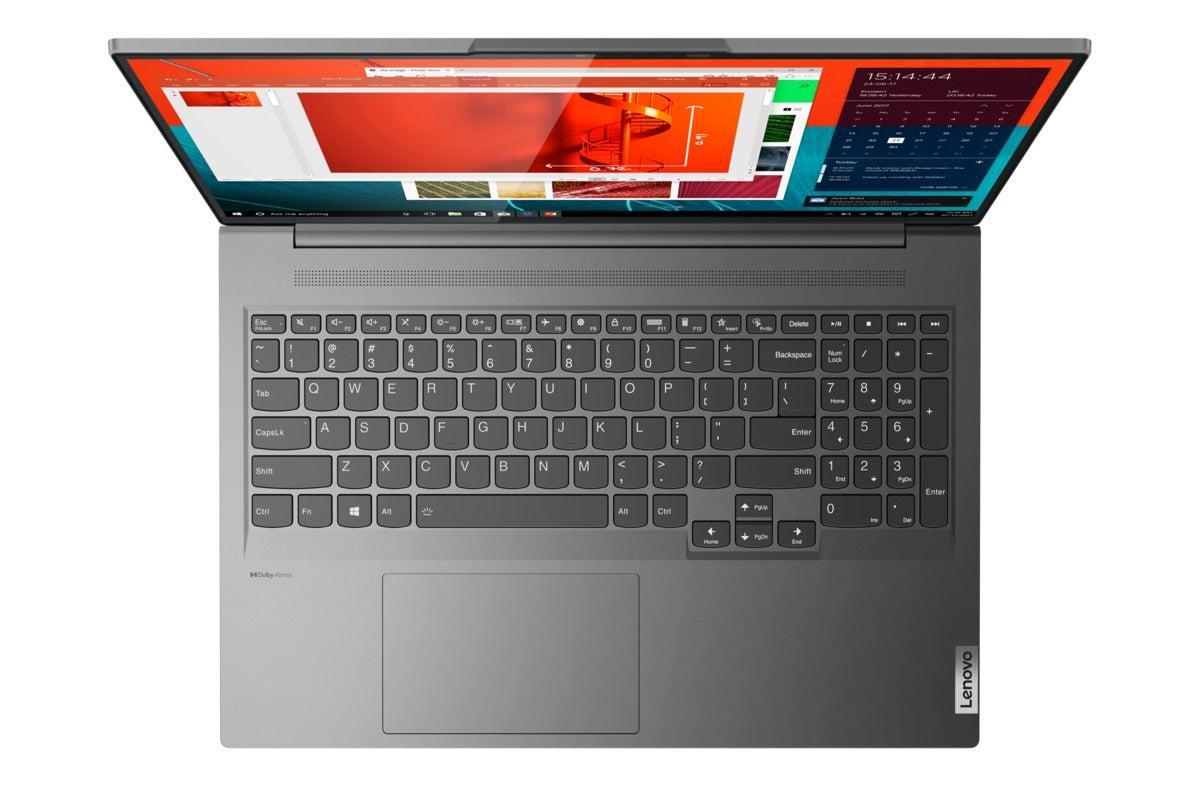 Первые ноутбуки Lenovo с Windows 11 работают на Ryzen (ideapad slim 7 pro storm grey hero keyboard 100901686 large)