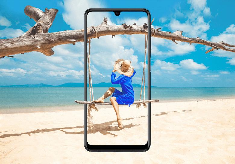Samsung представила недорогой смартфон Galaxy M22