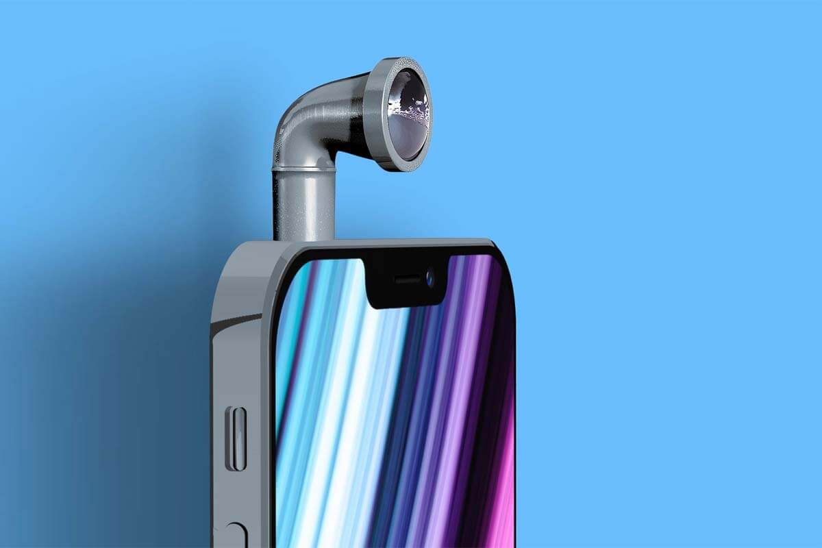 Apple планирует перископическую камеру для iPhone 2023 года, но закупать будет не Samsung (iphone periscope lens 1)