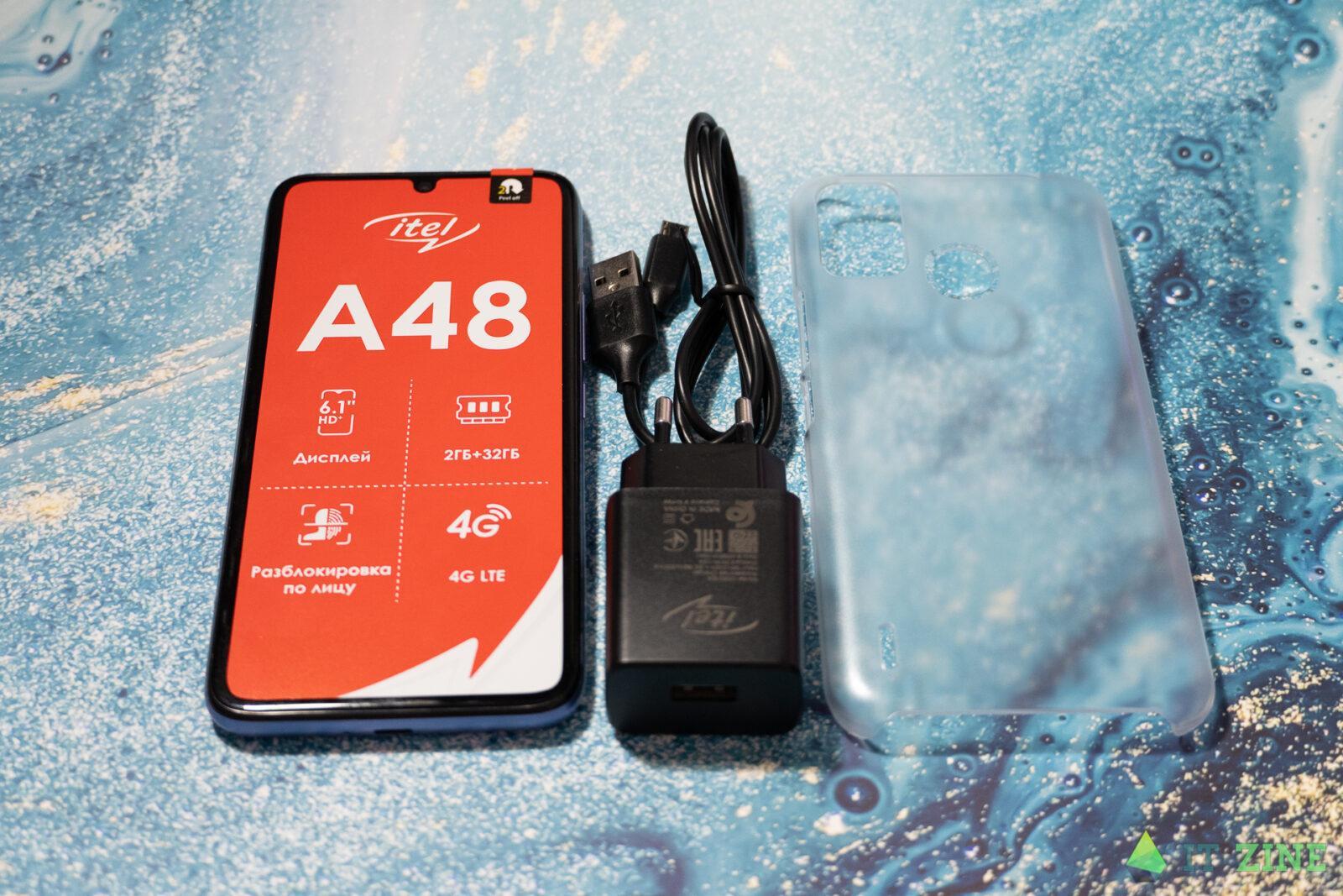 Обзор Itel A48: недорогой смартфон с LTE для школьников (itel A48 17)