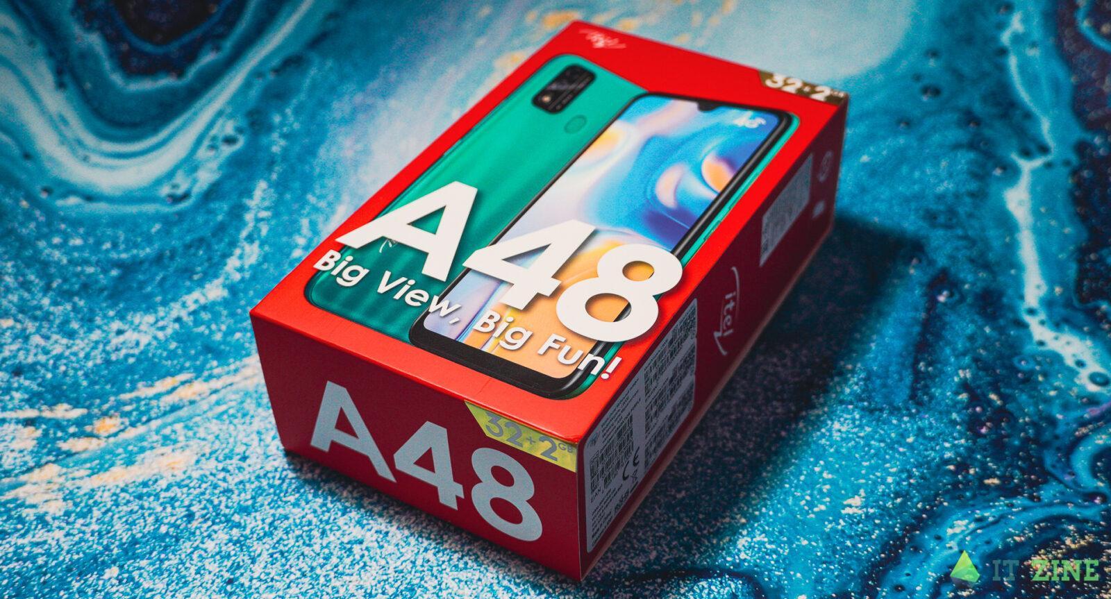 Обзор Itel A48: недорогой смартфон с LTE для школьников (itel A48 18)