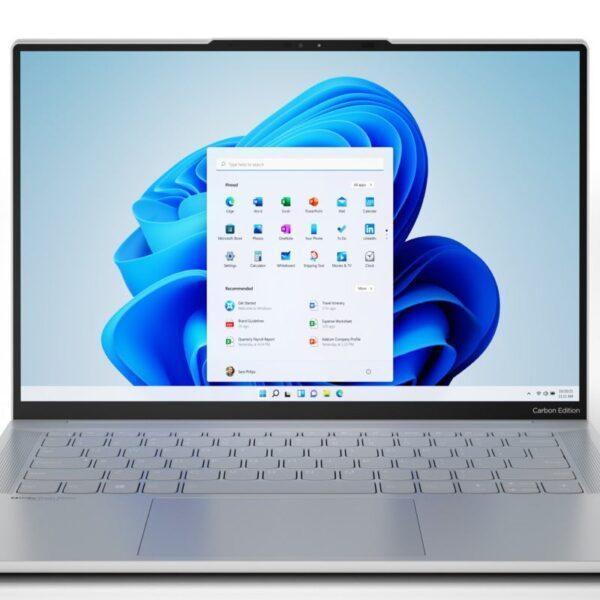 Первые ноутбуки Lenovo с Windows 11 работают на Ryzen (lenovo ideapad slim 7 carbon windows 11 experience 100901692 large)