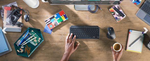Logitech сделала миниатюрные клавиатуры MX Keys Mini (mailservice)