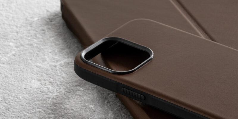Всё что нужно знать о чехлах Nomad для iPhone 13 (nomad leather iphone 13 2 1)