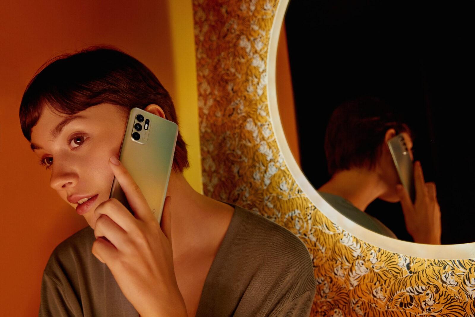 OPPO представила смартфон Reno6 c уникальными функциями портретного видео (oppo reno6 thinness scaled)