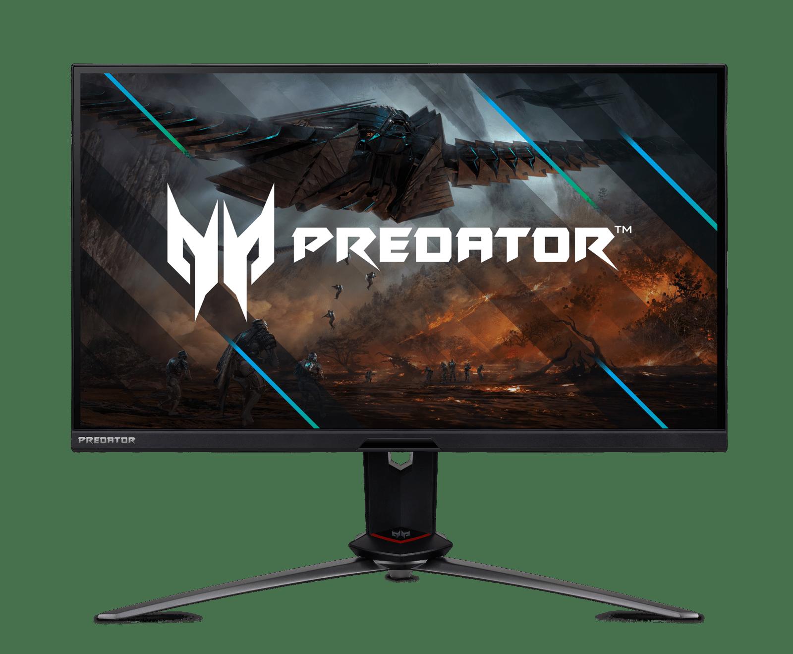 Acer представила игровой монитор Predator XB273UNV (predator monitor xb3 series xb273un v logowp 01)
