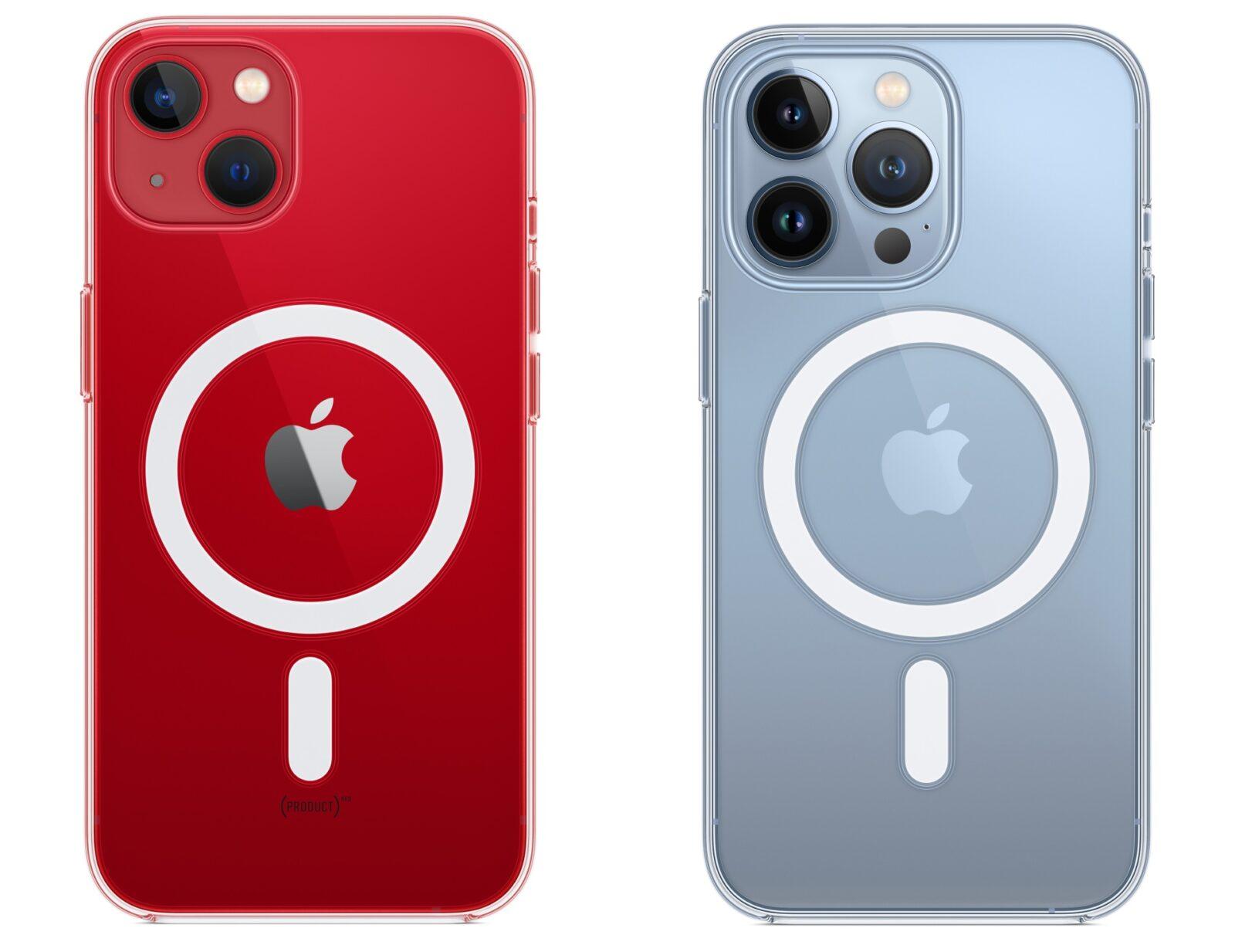 Взгляните на скрытые характеристики iPhone 13 (prozrachnyj chehol magsafe)