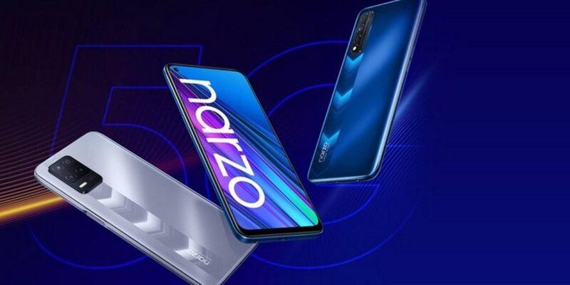 В сеть слили дизайн смартфона Realme Narzo 50i (realme narzo 30)