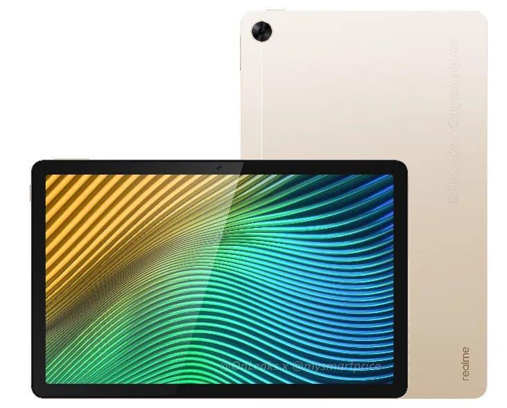 Планшет Realme Pad получит 10,4-дюймовый дисплей и Helio G80 (realmepad leak)