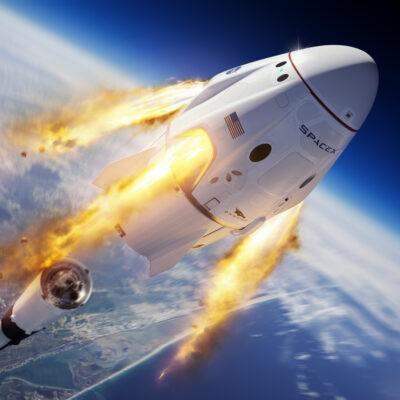 SpaceX готовится к запуску, который отправит на орбиту гражданский экипаж (spaceX)