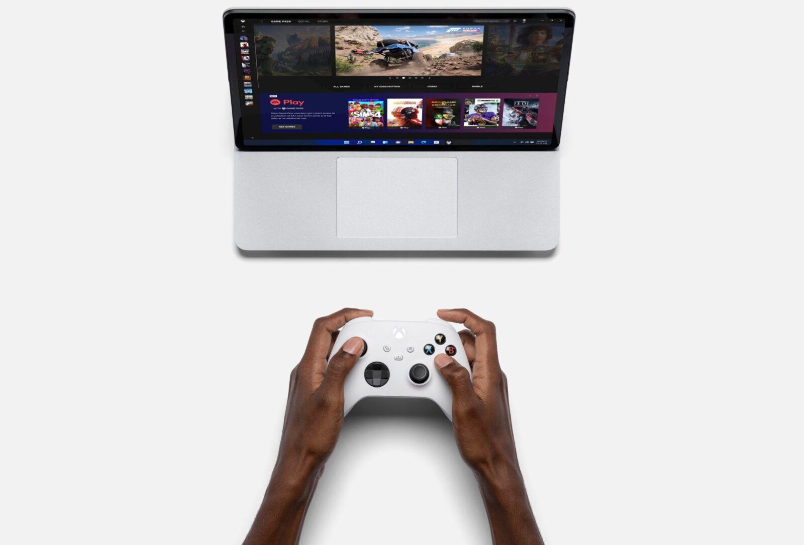 Surface Laptop Studio - новый мощный флагманский ноутбук Microsoft (surface laptop studio gaming)