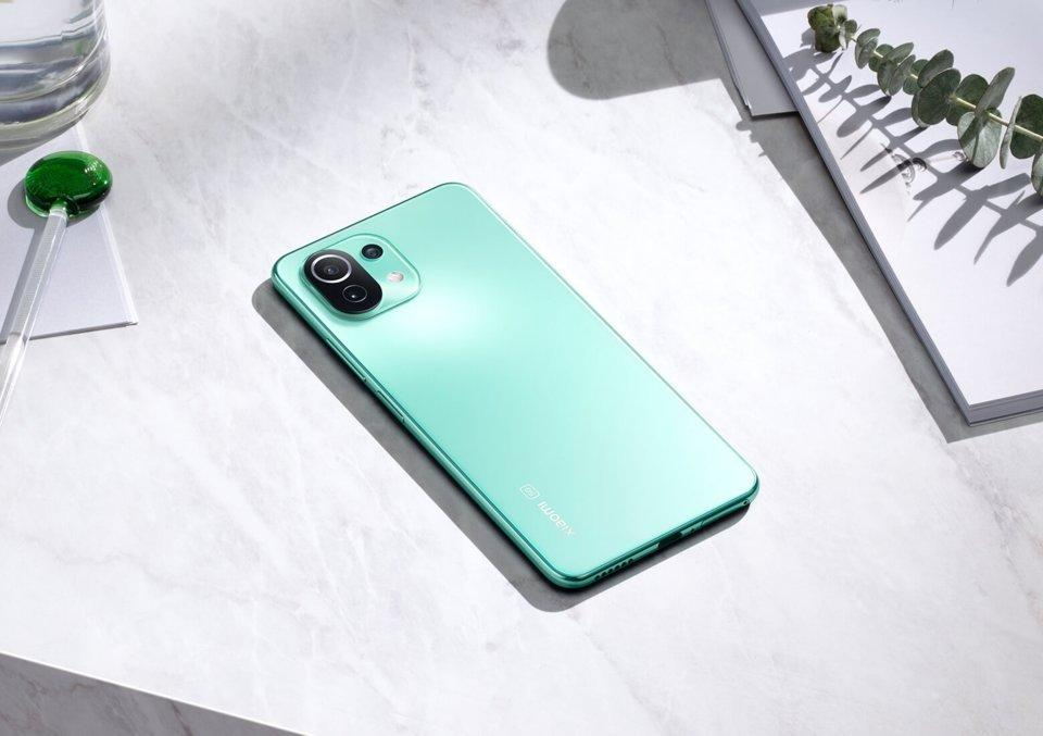 Xiaomi анонсировала запуск смартфона Mi 11 Lite 5G NE