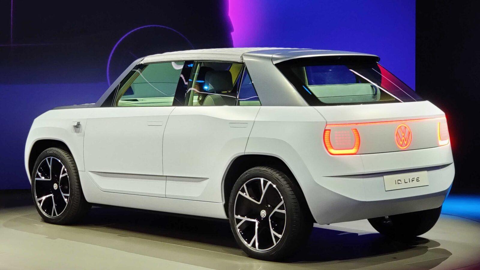 Volkswagen представил новый концепт-кар ID.Life на IAA MOBILITY 2021 в Мюнхене (volkswagen id life munich 6)