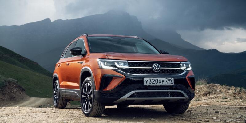 Клиенты Volkswagen выбрали дилеров уровня 5 звёзд (volkswagen taos)
