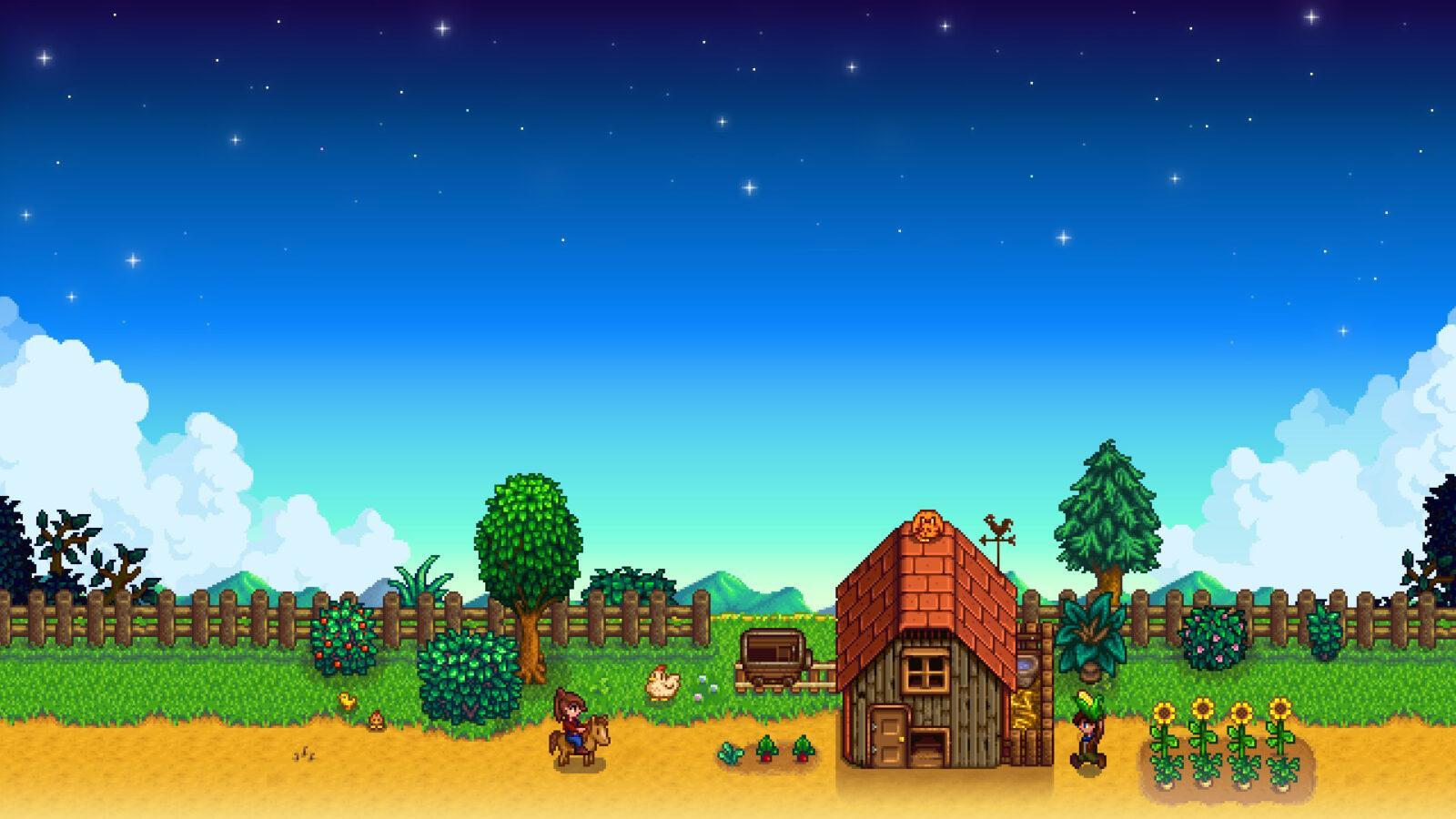 Создатель Stardew Valley сосредоточится на разработке новой игры (wallpapersden.com stardew)