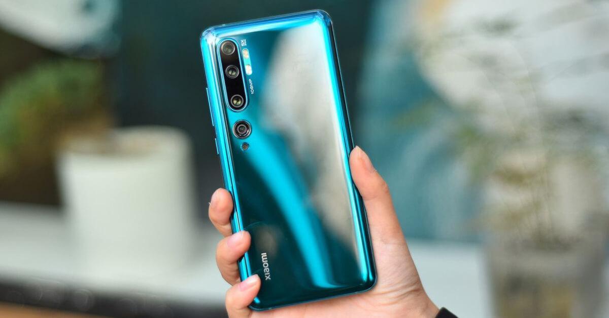 В сеть слили характеристики смартфона Xiaomi CC11 (xiaomi mi note 10 pro green cover)