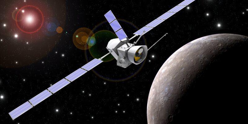 BepiColombo сделала первые снимки Меркурия (BepiColombo 2014 exploring Mercury pillars)