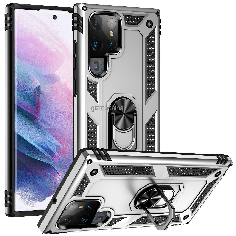 Вот как будет выглядеть флагман Samsung Galaxy S22 Ultra (Galaxy S22 Ultra Case Render 4)