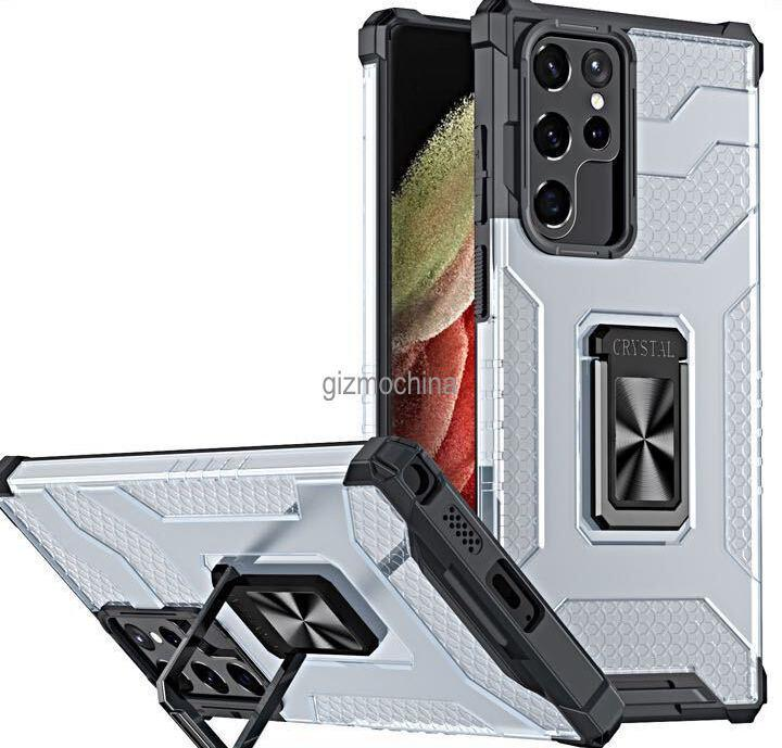 Вот как будет выглядеть флагман Samsung Galaxy S22 Ultra (Galaxy S22 Ultra Case Render 5)