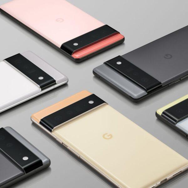 Google представил Pixel 6 и Pixel 6 Pro, которые работают на собственном чипе Google Tensor (Google Pixel 6 Portfolio Shot.0)