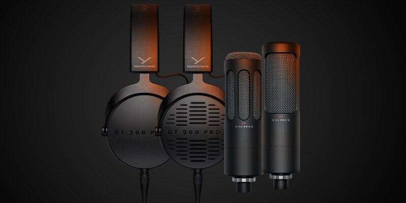 Beyerdynamic представила новые наушники и микрофоны PRO X для креаторов (Group Shot)