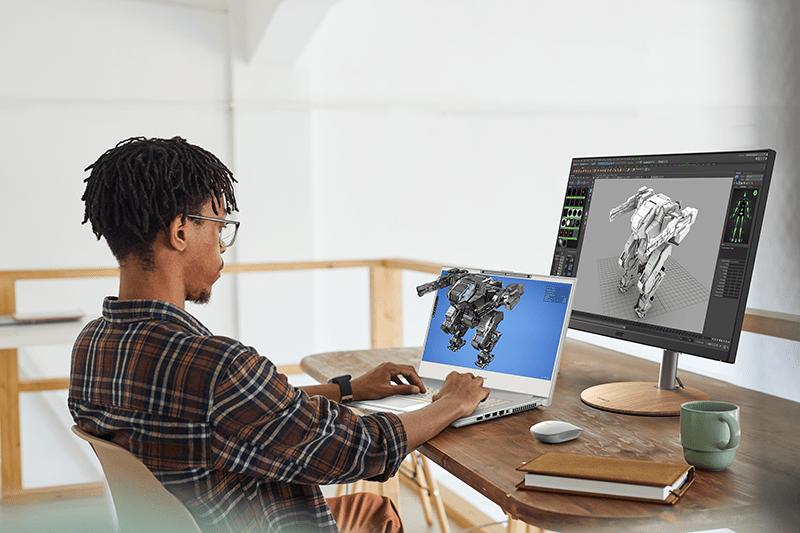 Acer выпустила ноутбук ConceptD 7 SpatialLabs Edition для работы с 3D-графикой (Lifestyle 1)