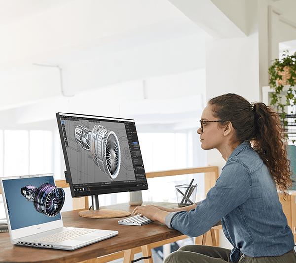 Acer выпустила ноутбук ConceptD 7 SpatialLabs Edition для работы с 3D-графикой (Lifestyle 3)