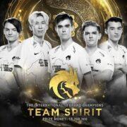 Российская киберспортивная команда Team Spirit выиграла самый крупный турнир Dota 2 The International 2021 (Teamspirit)