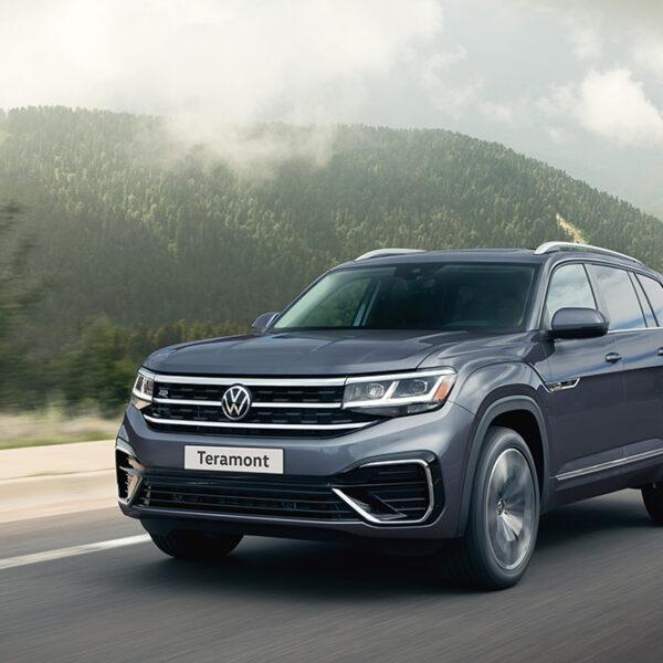 Volkswagen Teramont передан первому клиенту в России (Volkswagen Teramont)