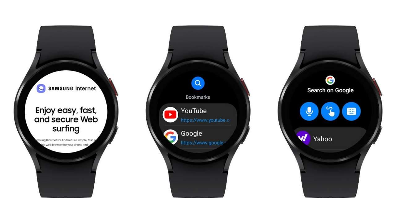 В Galaxy Watch 4 теперь есть интернет-браузер Samsung (samsung internet wear os 1280x720 1)