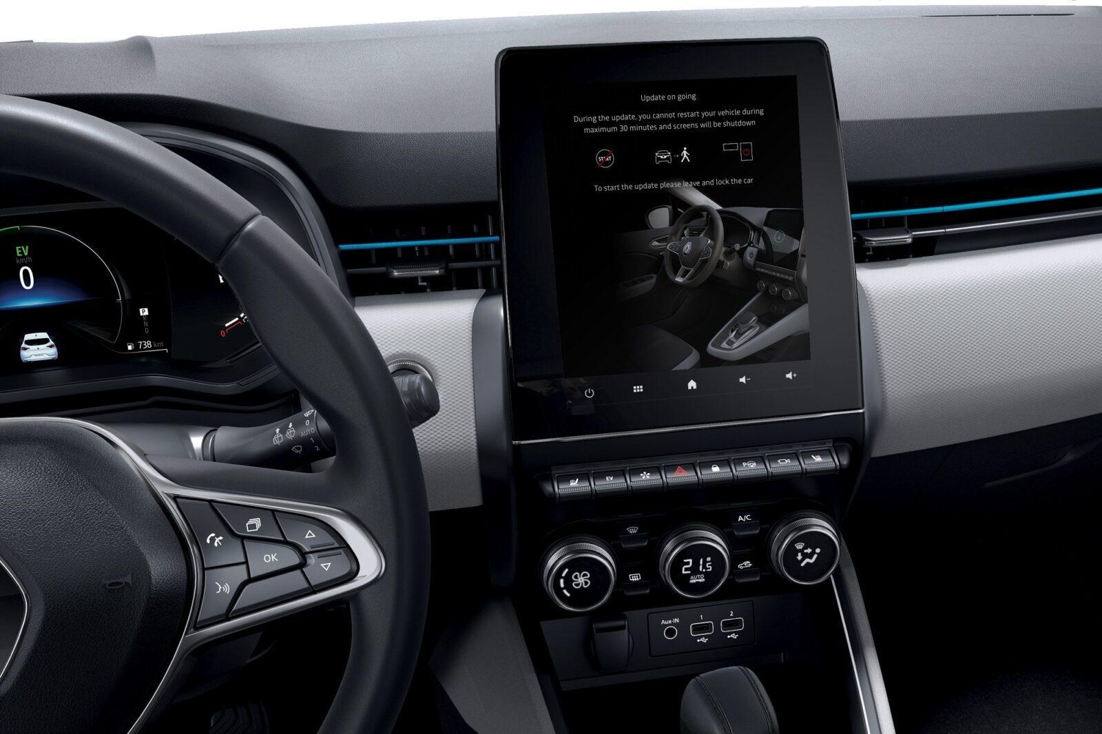 Всё о FOTA — обновления «по воздуху» для автомобилей Renault (systeme multimedia easy link)