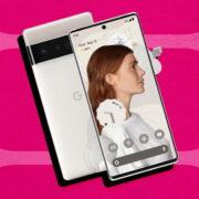 Google Pixel 6 и Pixel 6 Pro составят конкуренцию iPhone в поддержке обновлений ОС (white google pixel 6 composite)